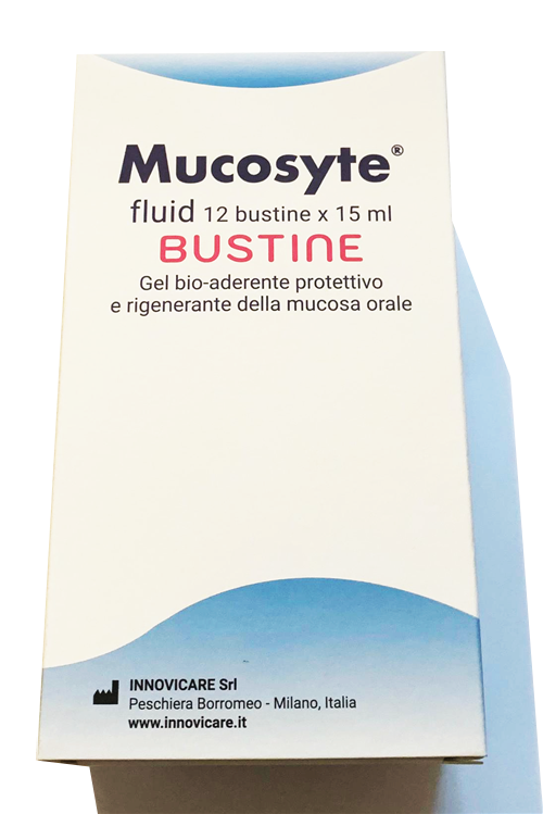 Mucosyte®fluid 12 sachets 15 ml ℮